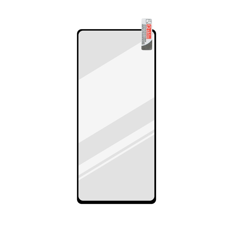 Xiaomi Redmi Note 9 Pro čierne ochranné FULL GLUE Q sklo