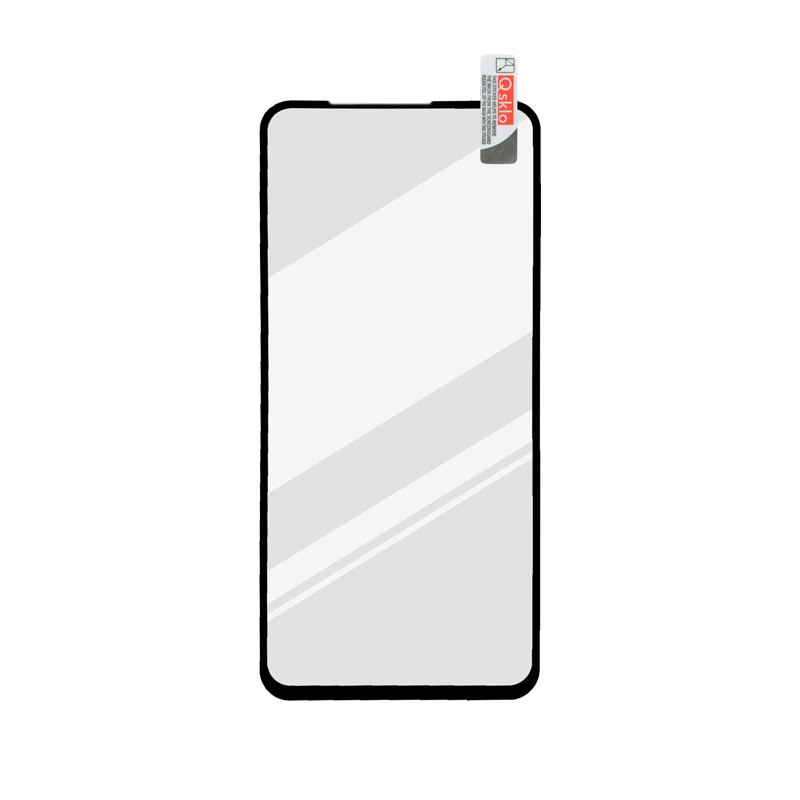 One Plus N100 čierne ochranné full glue sklo, Q sklo