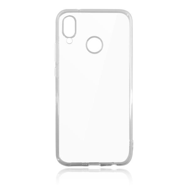 Gumené puzdro Huawei P20 Lite priehľadné, nelepivé