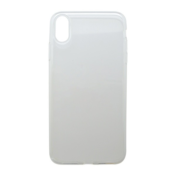 Silikónové puzdro iPhone XS MAX priehľadné, nelepivé