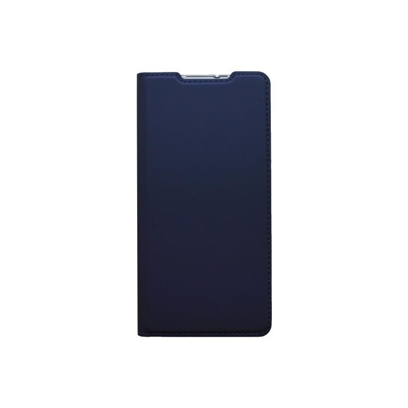 Knižkové puzdro Metacase Huawei P30 tmavomodré