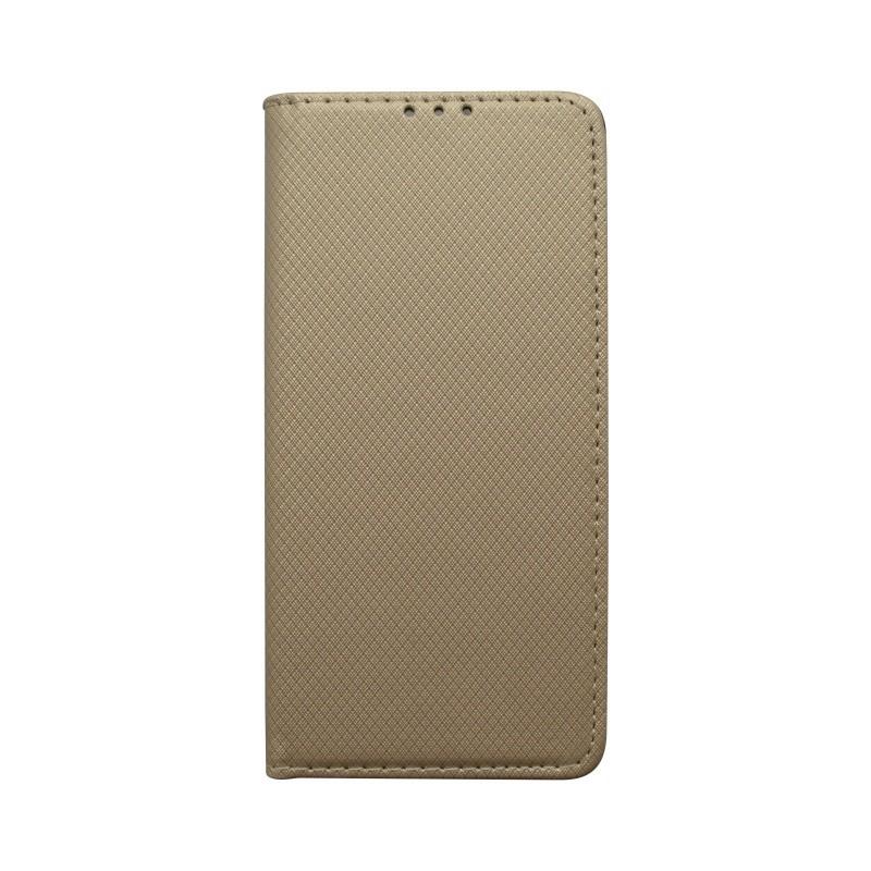 Knižkové puzdro Huawei P30 zlaté, vzor