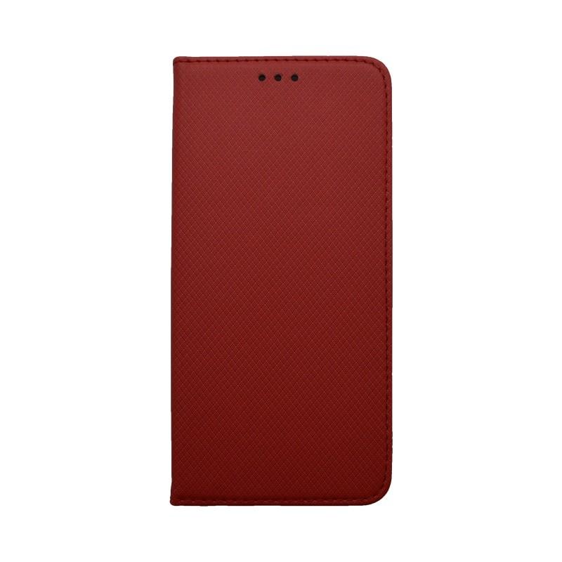 Knižkové puzdro Samsung Galaxy A50 červené, vzorované