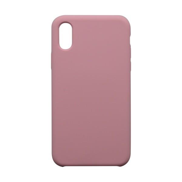 Ochranné puzdro Silicon iPhone XS ružové