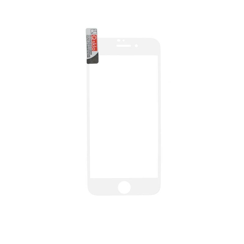 iPhone 7/8 biele, Ochranné sklo FullGlue, Q Sklo