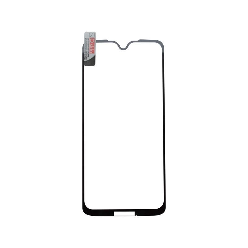Ochranné sklo Moto G7 čierne, full glue