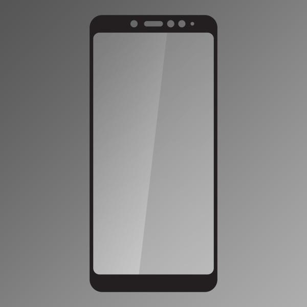 Ochranné sklo Q sklo Xiaomi Redmi Note 5 čierne, fullcover