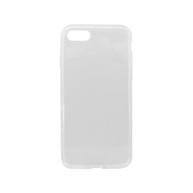 Gumené puzdro Apple iPhone 8, priehľadné nelepivé
