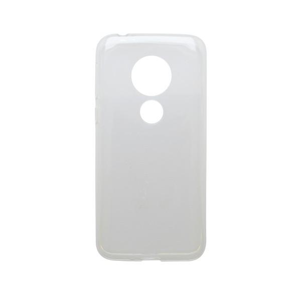 mobilNET silikónové puzdro Moto E5 Play priehľadné, nelepivé