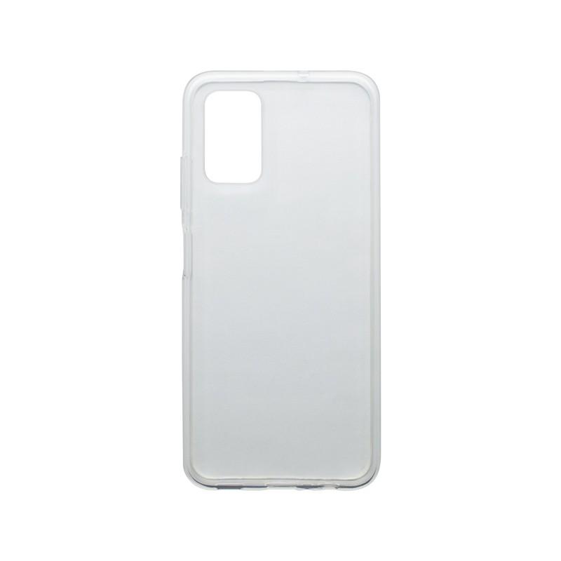 mobilNET silikónové puzdro Samsung Galaxy F52 5G, priehľadné, Moist 1.2mm
