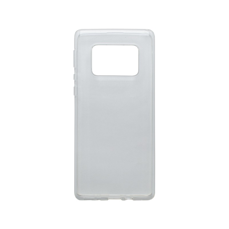 mobilNET silikónové puzdro Sharp Aquos R6, priehľadné, Moist 1.2mm