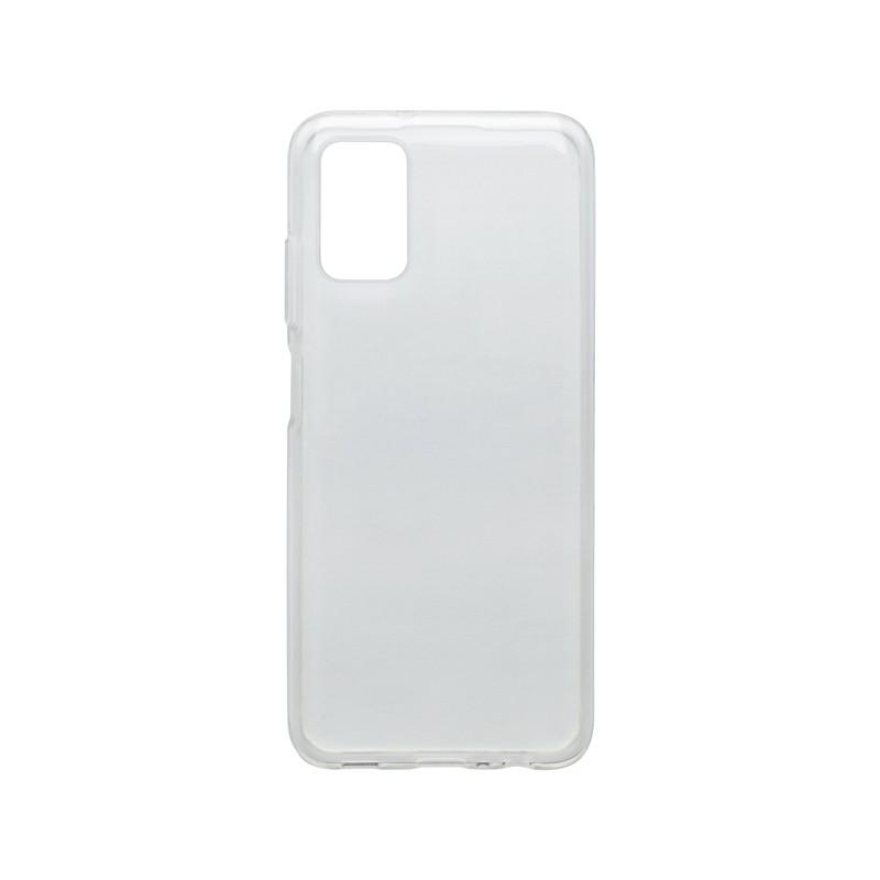 mobilNET silikónové puzdro Samsung Galaxy A03S 4G, priehľadné, Moist 1.2mm