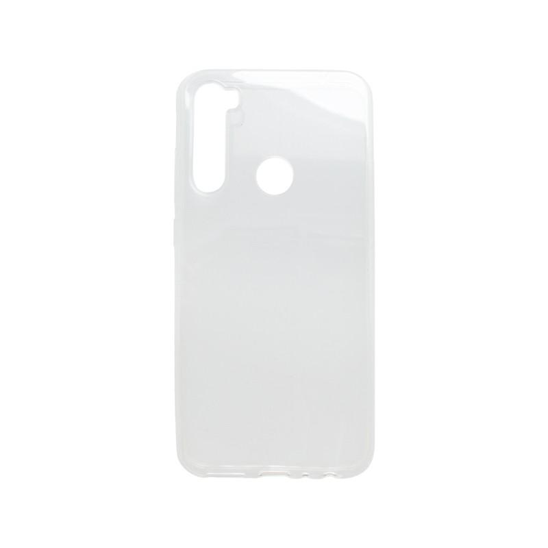 mobilNET silikónové puzdro Xiaomi Redmi Note 8, priehľadné, Moist