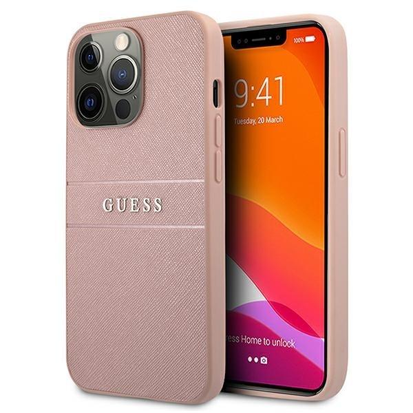 Guess puzdro na iPhone 13 Pro Max, GUHCP13XPSASBPI