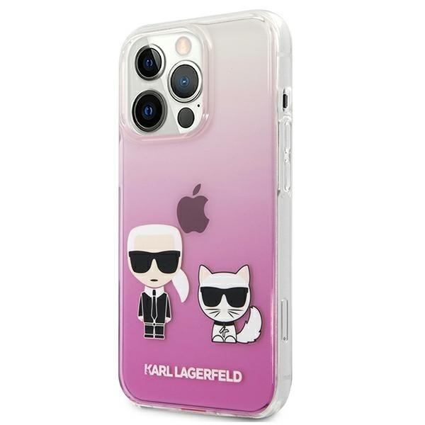 Karl Lagerfeld puzdro na iPhone 13 Pro Max, KLHCP13XCKTRP