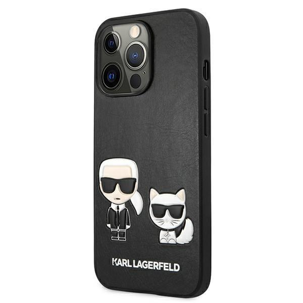 Karl Lagerfeld puzdro na iPhone 13 Pro Max, KLHCP13XPCUSKCBK