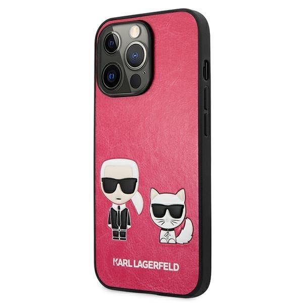 Karl Lagerfeld puzdro na iPhone 13 Pro Max, KLHCP13XPCUSKCP