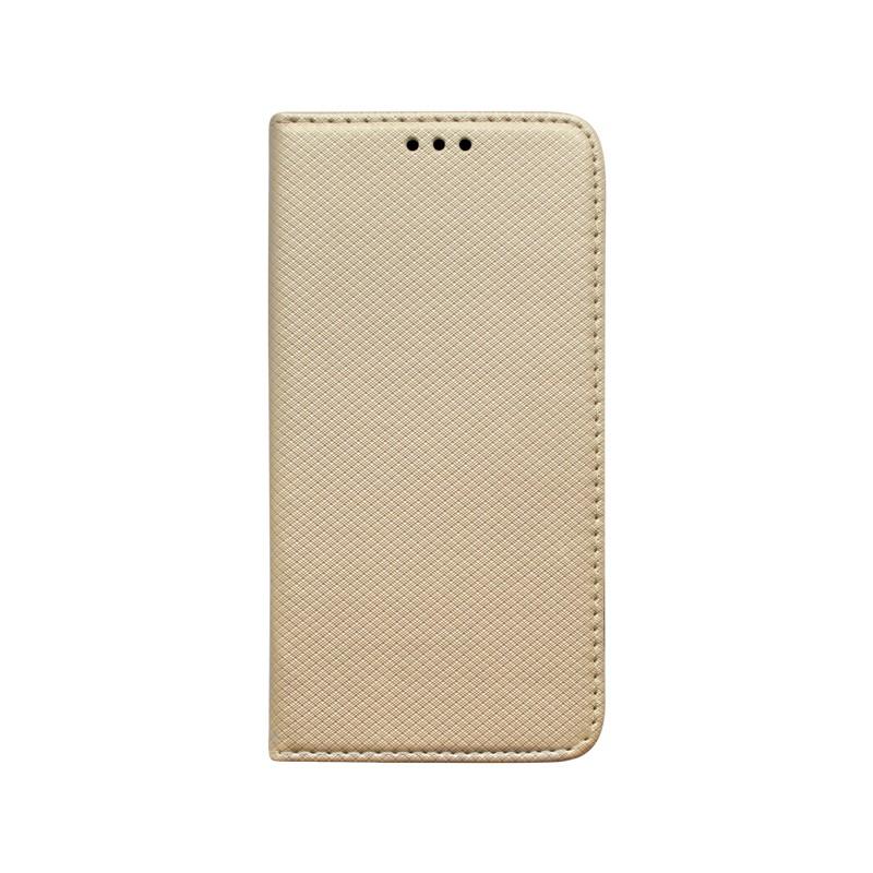 Knižkové puzdro Xiaomi Redmi 8A zlaté vzorované