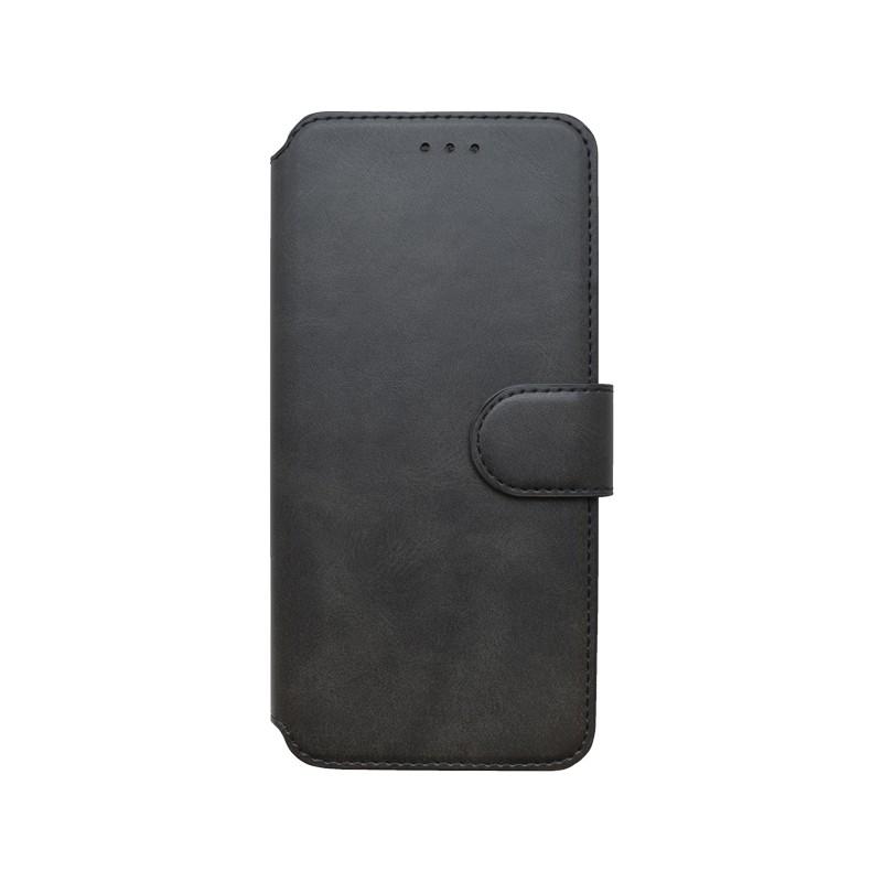 mobilNET knižkové puzdro Realme 8, čierna, 2020