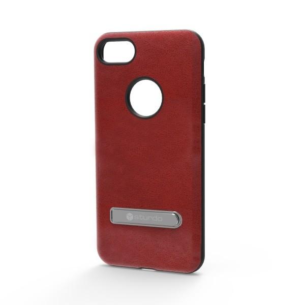 Puzdro Sturdo iPhone 7 plastové, bordové