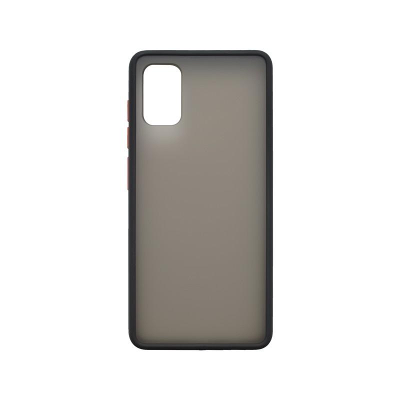 mobilNET plastové puzdro Samsung Galaxy A41, čierne, Season