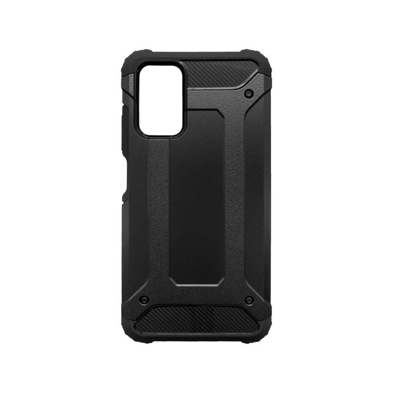 mobilNET Xiaomi Redmi 9T plastové puzdro, čierna Military