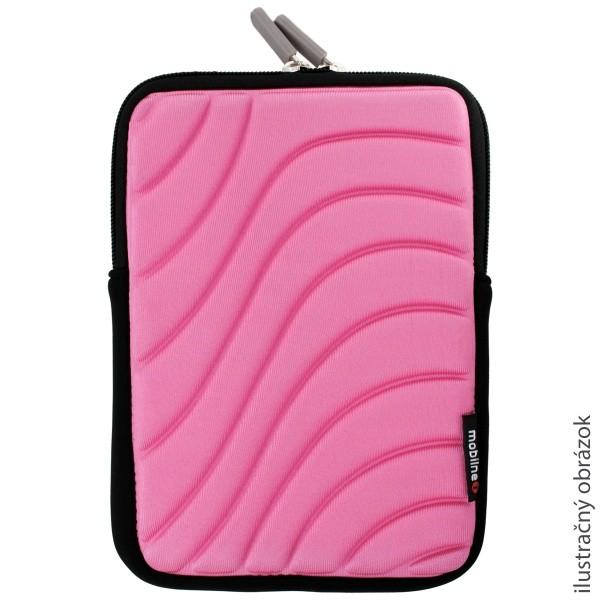 Univerzálne puzdro na tablet zipsové, ružové