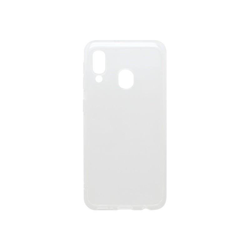 mobilNET silikónové puzdro Samsung Galaxy A20e priehľadné, nelepivé