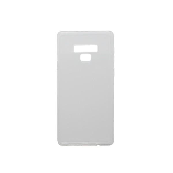 Silikónové puzdro Samsung Galaxy Note 9 priehľadné, nelepivé