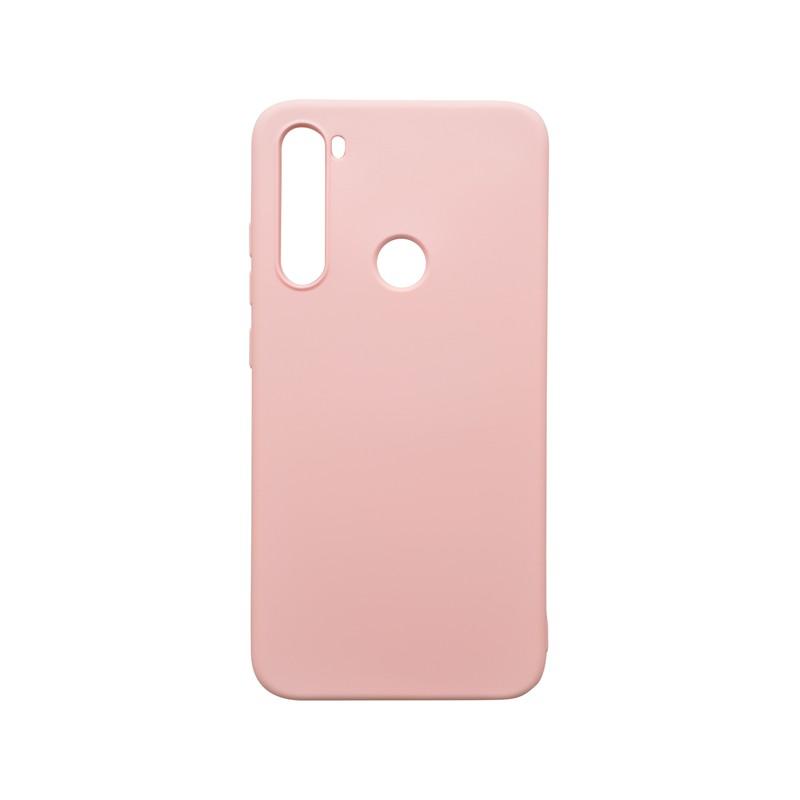 mobilNET silikónové puzdro Soft, Xiaomi Redmi Note 8 ružové