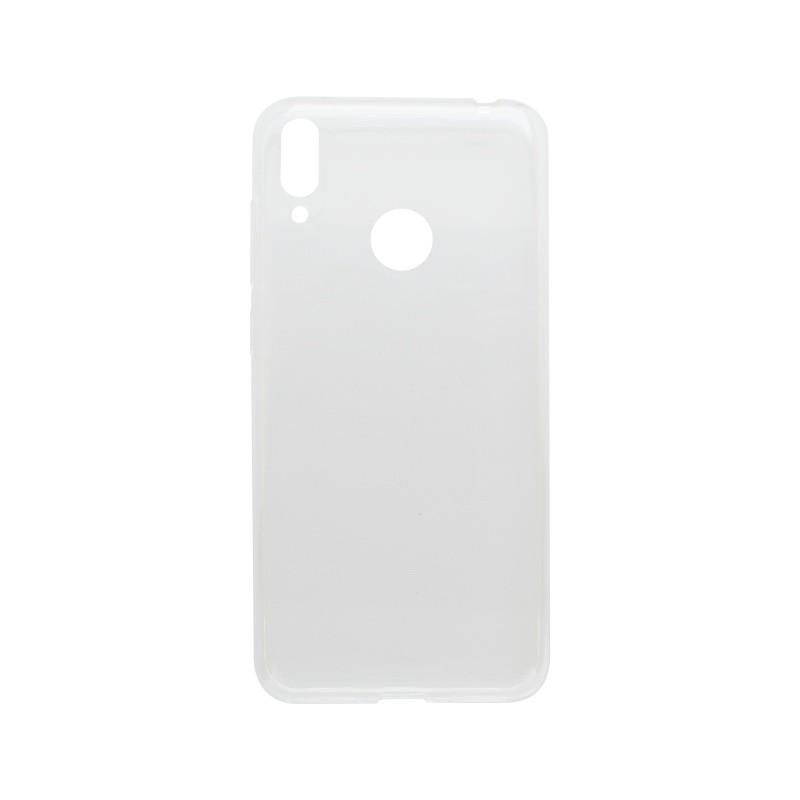 Silikónové puzdro Xiaomi Redmi 7 priehľadné, nelepivé