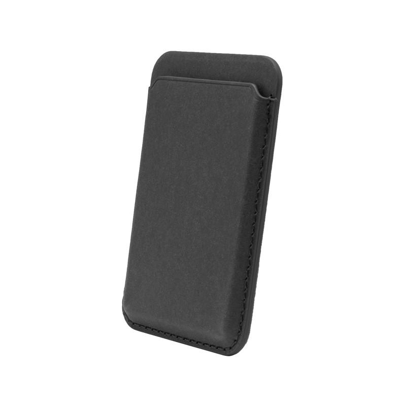 mobilNET Magsafe magnetické puzdro na karty, čierne