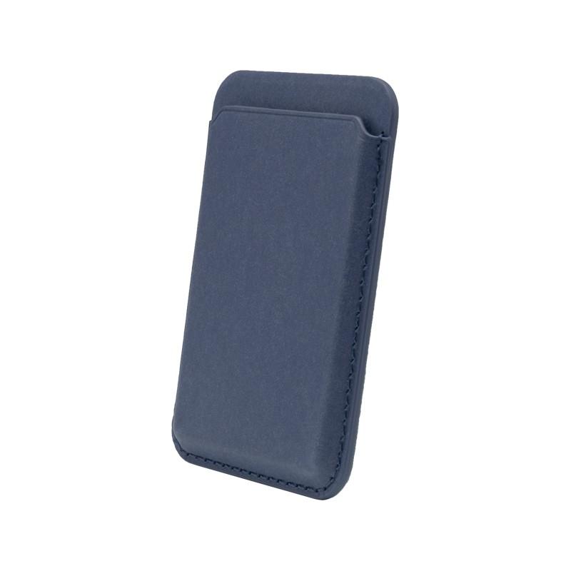 mobilNET Magsafe magnetické puzdro na karty, modré