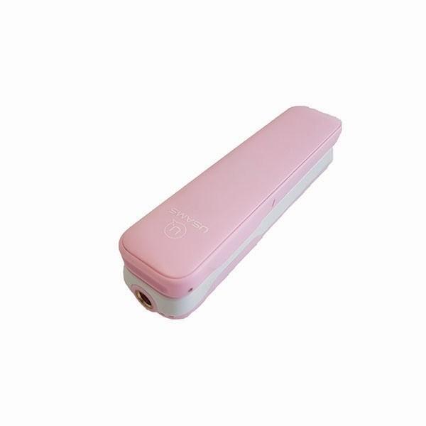 USAMS selfie tyčka Mini Bluetooth M1, ružová, ZB5601
