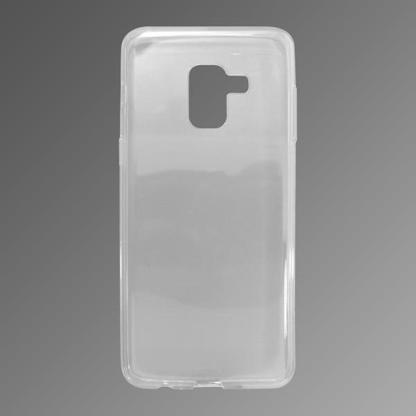 mobilNET silikónové puzdro Samsung Galaxy A8 2018 priehľadné, nelepivé