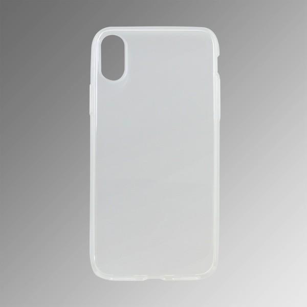 Gumené puzdro Apple iPhone X, priehľadné nelepivé