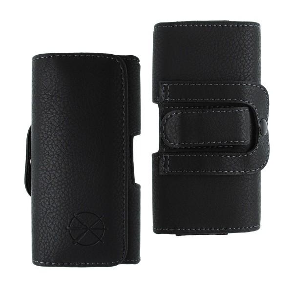 Opaskové puzdro Preppy, veľkosť 4XL, čierne