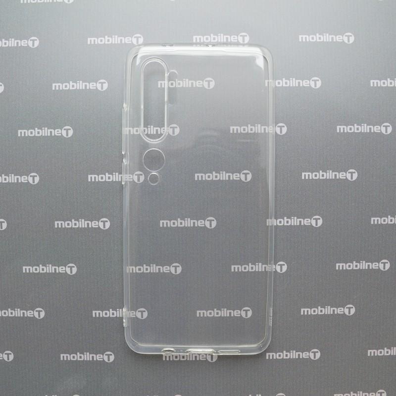 Silikónové puzdro Xiaomi Redmi Note 10 priehľadné, nelepivé