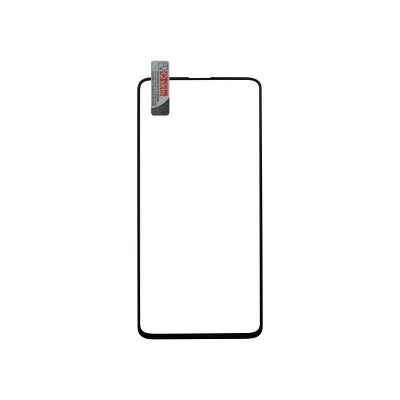 Kijelzővédő üveg Samsung Galaxy S10, fekete, 3D fullcover, Q sklo