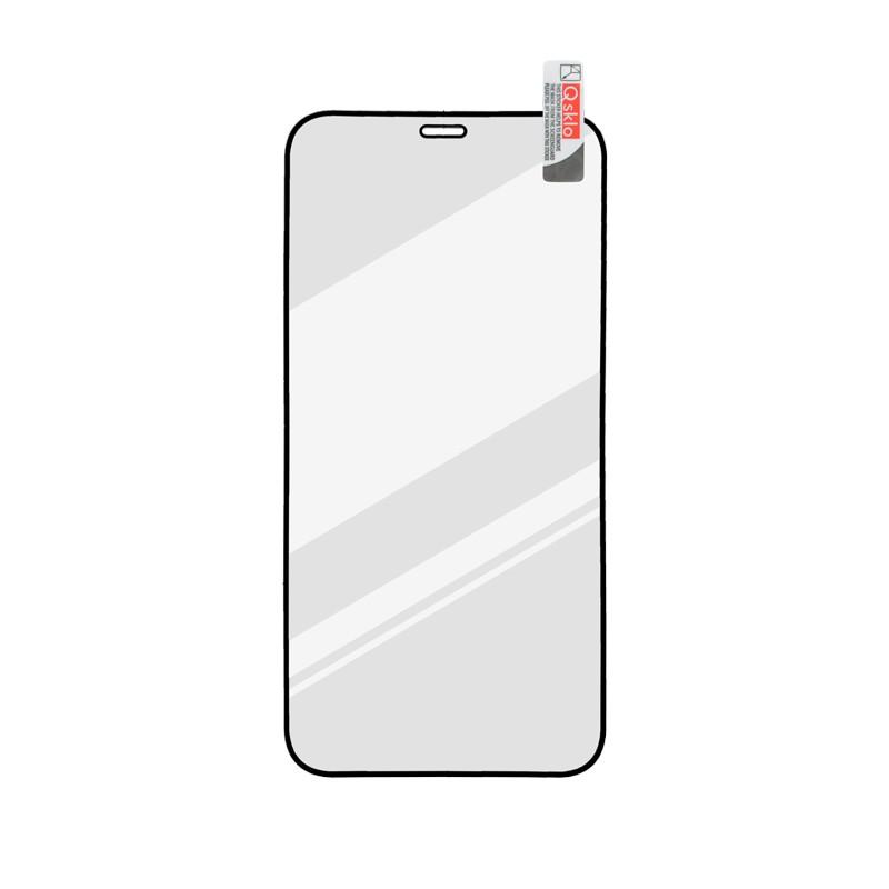 iPhone 12 Max/iPhone 12 Pro Kijelzővédő üveg fekete, full glue