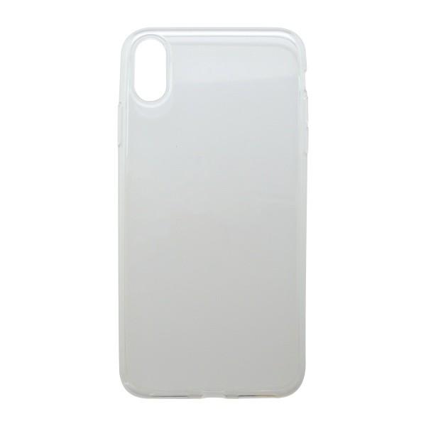 Tapadásmentes hátlapvédő tok iPhone XS MAX átlátszós