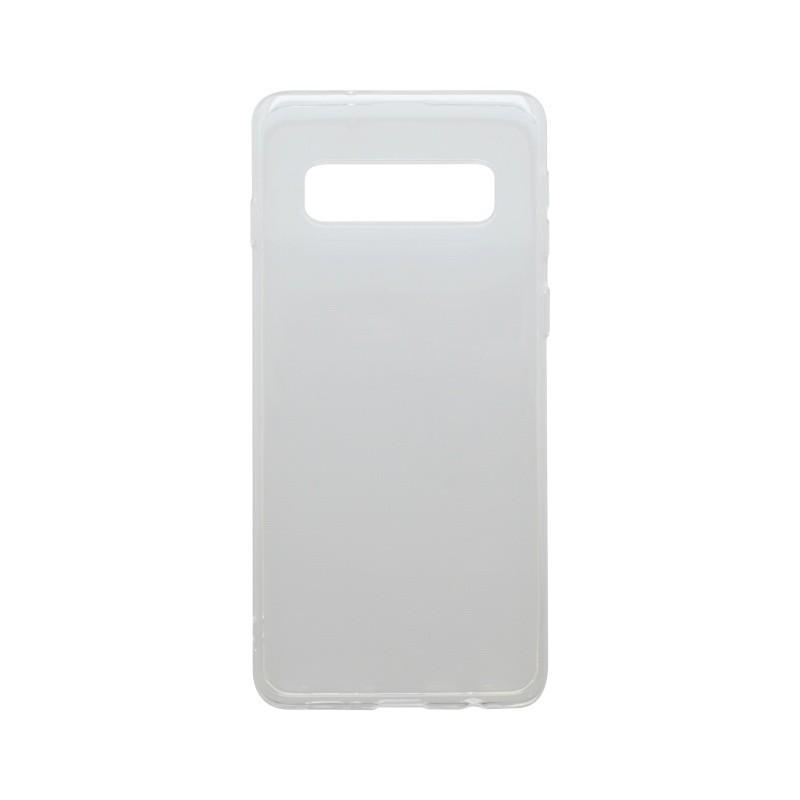 Tapadásmentes szilikon tok Samsung Galaxy S10 Plus átlátszós