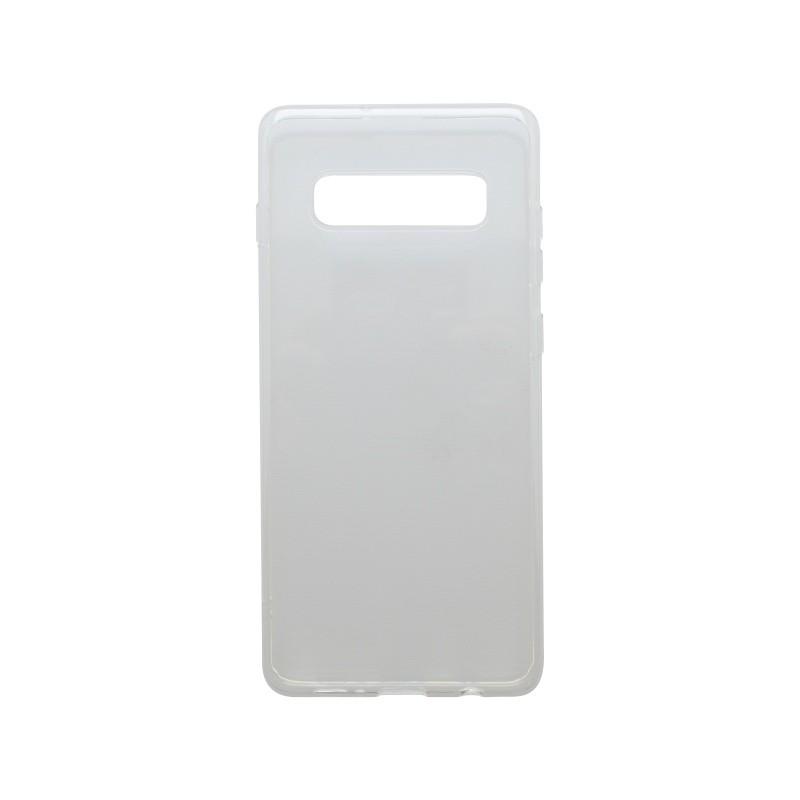 Tapadásmentes szilikon tok Samsung Galaxy S10 átlátszós