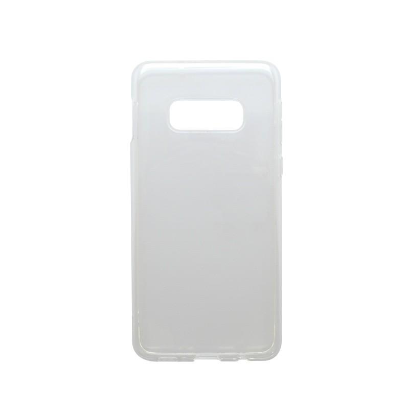 Tapadásmentes szilikon tok Samsung Galaxy S10e átlátszós