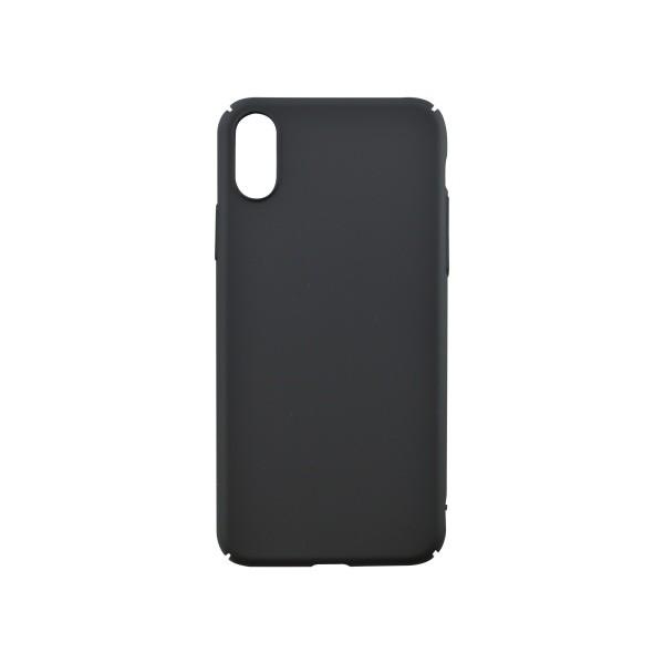 Műanyag hátlapvédő tok iPhone X fekete