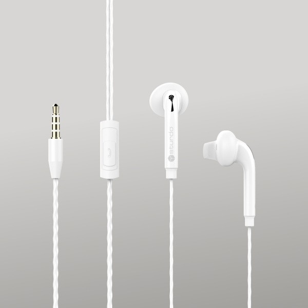 Fülhallgatók Sturdo, fehér