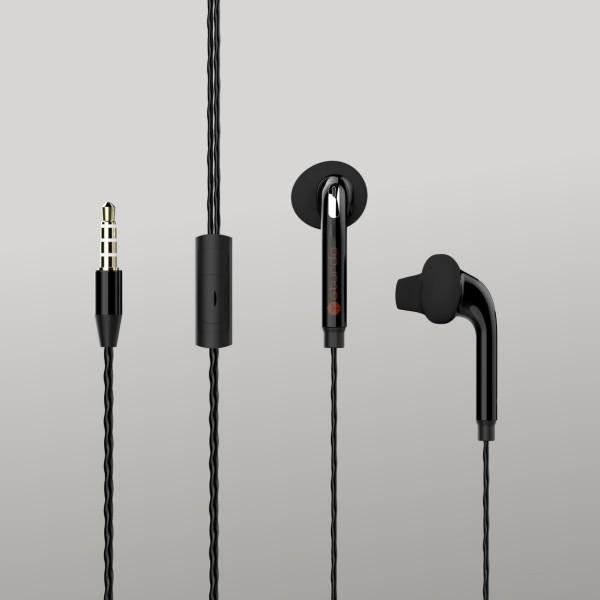 Fülhallgatók Sturdo Pro Sport, fekete