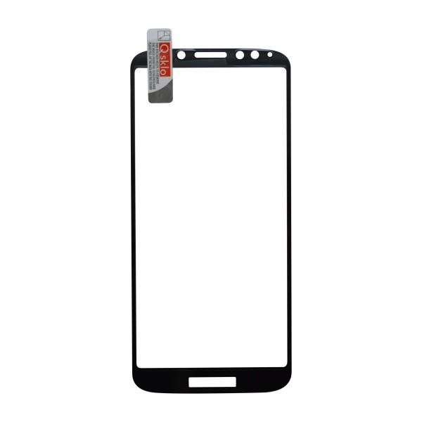 Kijelzővédő üveg Q sklo Moto E5 Play fekete, fullcover, 0.33mm