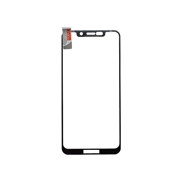 Kijelzővédő üveg Q sklo Moto One fekete, fullcover, 0.33 mm