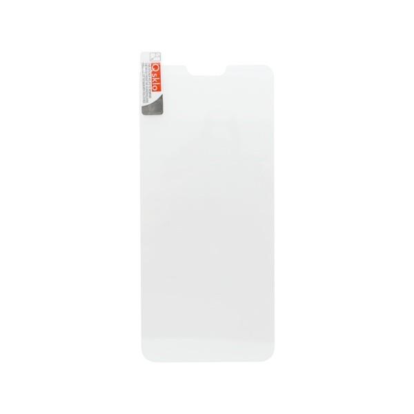 Kijelzővédő üveg Q sklo Nokia 7.1 fekete, 0.25mm